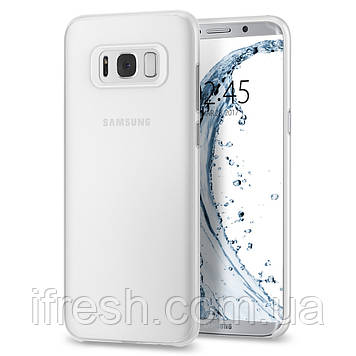 Чехол Spigen для Samsung Galaxy S8 Plus, Air Skin, Soft Clear (571CS21679)