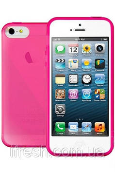 Чехол Viva Madrid для Apple iPhone 5/5S Silicone Cover Ductil, Pink (VIVA-IP5DUC-DUCPNK)