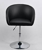 Кресло для дома, кафе, салона красоты ANDY CH-BASE ЭКО, черный