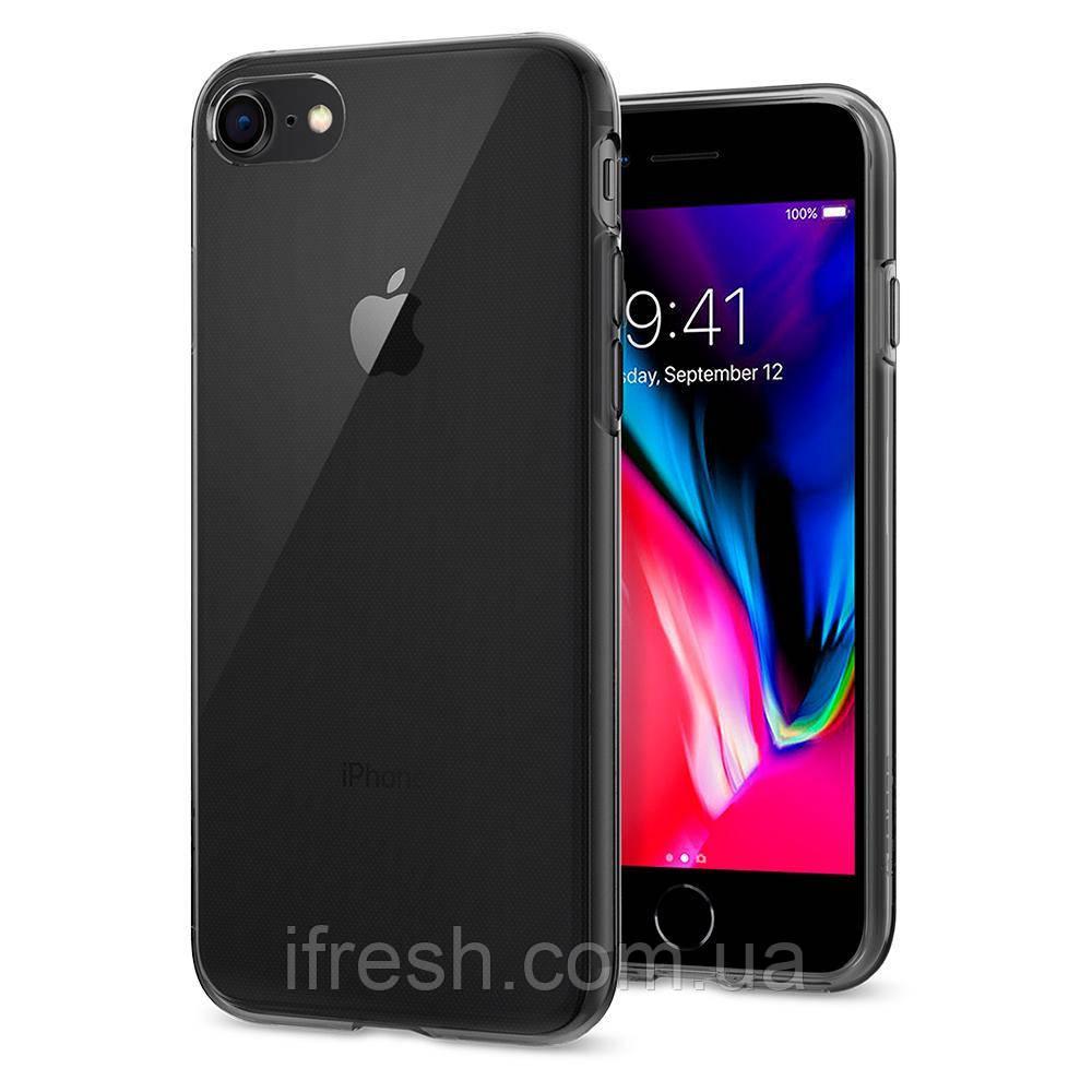 Чехол Spigen для iPhone SE 2020/8/7 Liquid Crystal, Space Crystal (042CS20846)