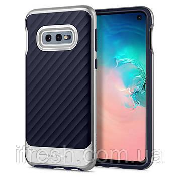 Чехол Spigen для Samsung Galaxy S10е Neo Hybrid, Arctic Silver (609CS25848)