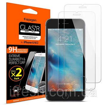 Защитное стекло Spigen для iPhone 6S / 6, 2 шт (012GL20145)