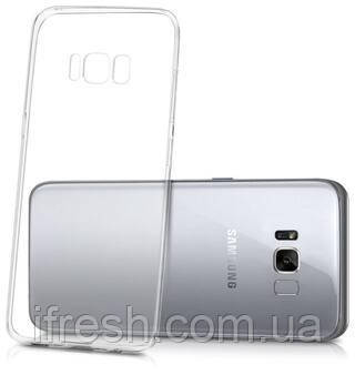 Чехол Ou Case для Samsung Galaxy S8 Plus Unique Skid Silicone, Transparent