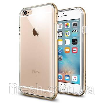 Чехол Spigen для iPhone 6s / 6 Neo Hybrid EX, Gold