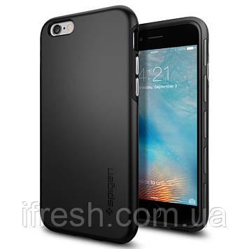 Чехол Spigen для iPhone 6s / 6 Thin Fit Hybrid, Black