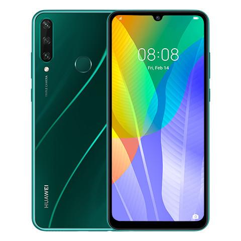 """Смартфон HUAWEI Y6p 3/64GB 6,3"""" 5000мАч Emerald Green (51095KYR)"""