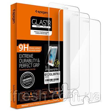 Защитное стекло Spigen для iPhone 6s / 6, 3 шт (012GL20744)
