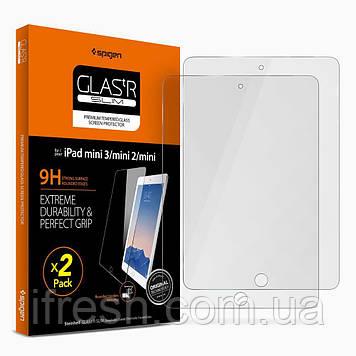 Защитное стекло Spigen для iPad mini3/ mini2/ mini (022GL20816)