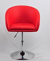 Кресло для дома, кафе, салона красоты ANDY CH-BASE ЭКО, красный