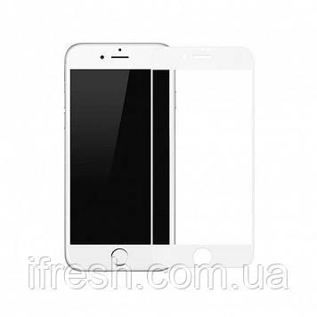 Защитное стекло Baseus для iPhone SE 2020/8/7 Silk-screen Pet Soft 0.23 mm, White (SGAPIPH8H-PE02)