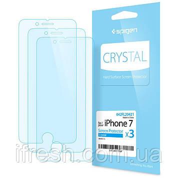 Защитная пленка Spigen для iPhone 8 / 7, глянец, 3 шт (042FL20421)