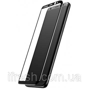 Защитное стекло Baseus для Samsung Galaxy S8 Plus Full-Glass 0.3mm, Black (SGSAS8P-3D01)