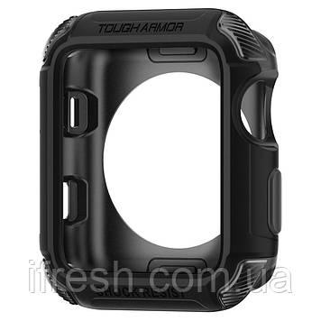 Чехол Spigen для Apple Watch Tough Armor™ 2 (38mm), Black (058CS22402)