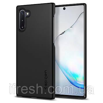 Чехол Spigen для Samsung Galaxy Note 10 Thin Fit, Black (628CS27368)