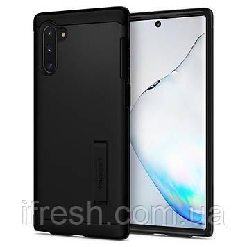 Чехол Spigen для Samsung Galaxy Note 10 Slim Armor, Black (628CS27540)