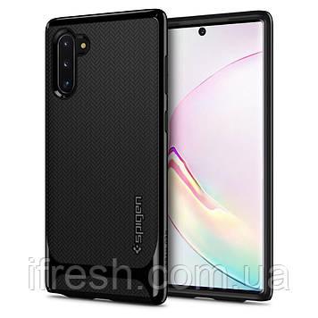 Чехол Spigen для Samsung Note 10 Neo Hybrid, Midnight Black (628CS27381)