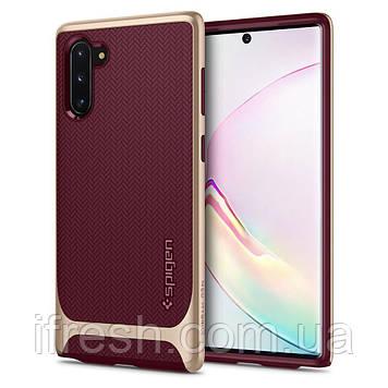 Чехол Spigen для Samsung Note 10 Neo Hybrid, Burgundy (628CS27383)