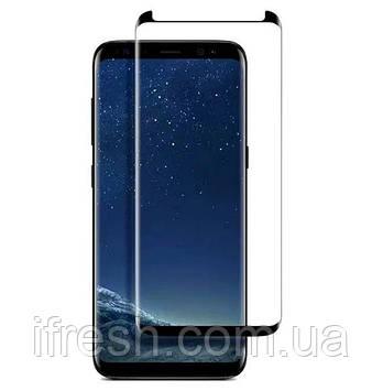 Защитное стекло 5D King Kong Full Glue для Galaxy S8 Plus, Black