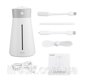 Увлажнитель воздуха Baseus Slim Waist Humidifier (with accessories), White (DHMY-B02)