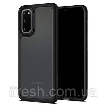 Чехол Spigen для Samsung Galaxy S20 Ciel Color Brick, Black (ACS00801)