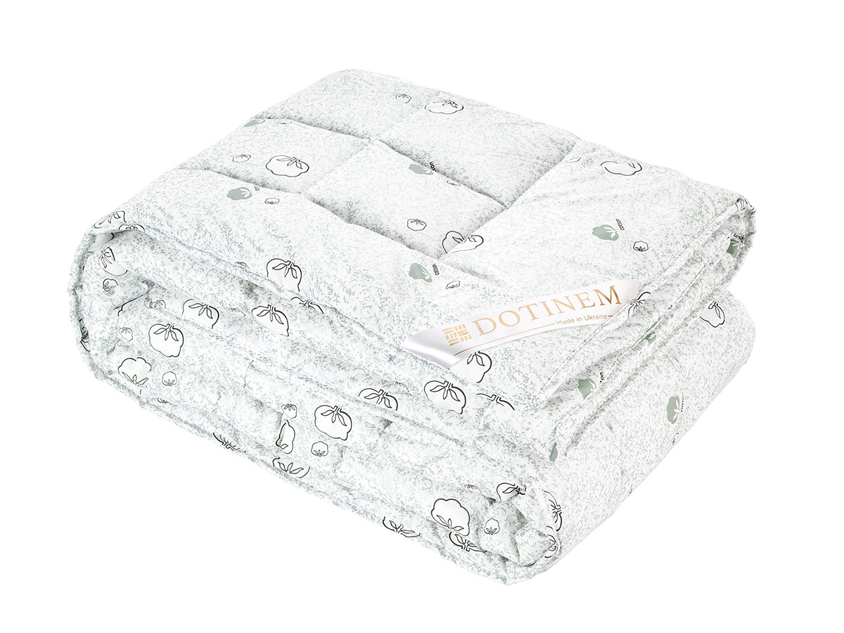 Одеяло теплое 145х210 хлопок полуторное  MILDTON