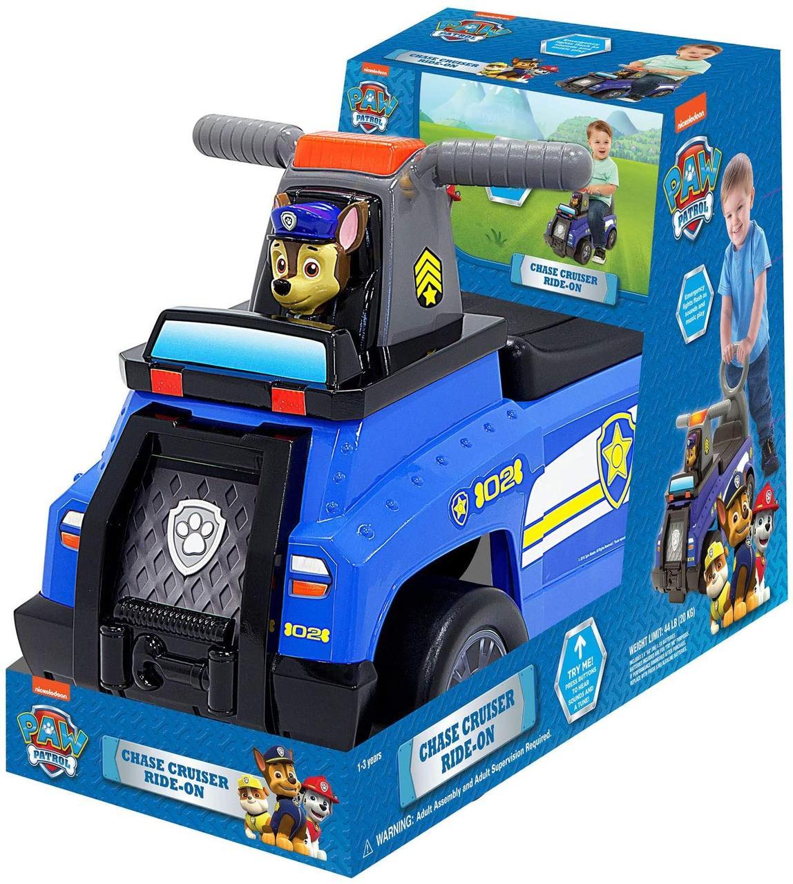 Набор Щенячий патруль машина с багажником и толокар, звук. эффекты  Paw Patrol Chase Cruiser