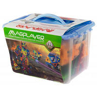 Конструктор Magplayer Набор 198 элементов (MPT-198)
