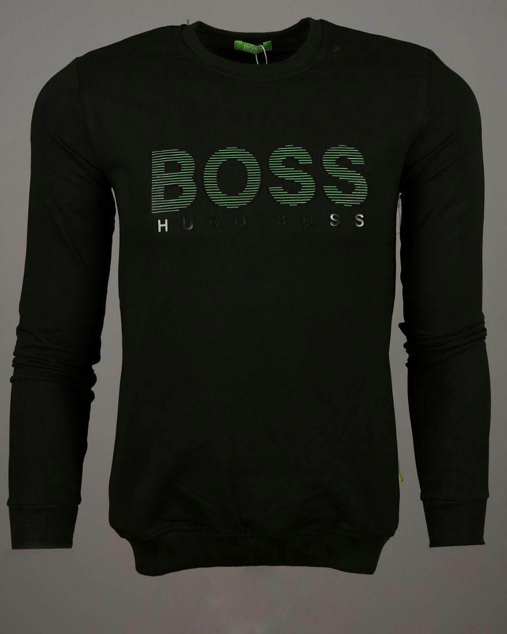 Мужская кофта свитшот Hugo Boss CK1433 черная