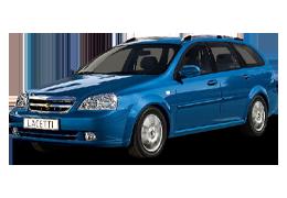 Дефлекторы на боковые стекла (Ветровики) для Chevrolet (Шевроле) Lacetti Wagon 2002+