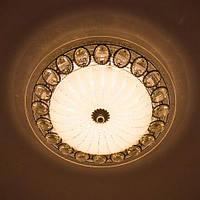 Потолочный светодиодный светильник LUMINARIA CASABLANCA CHROME 25W R300 ON/OFF WHITE 220 IP20, фото 1