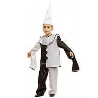 Детский маскарадный костюм Пьеро для мальчика, фото 1