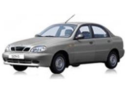 Дефлекторы на боковые стекла (Ветровики) для Chevrolet (Шевроле) Lanos 1997-2012