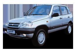 Дефлекторы на боковые стекла (Ветровики) для Chevrolet (Шевроле) Niva 1 2002-2010