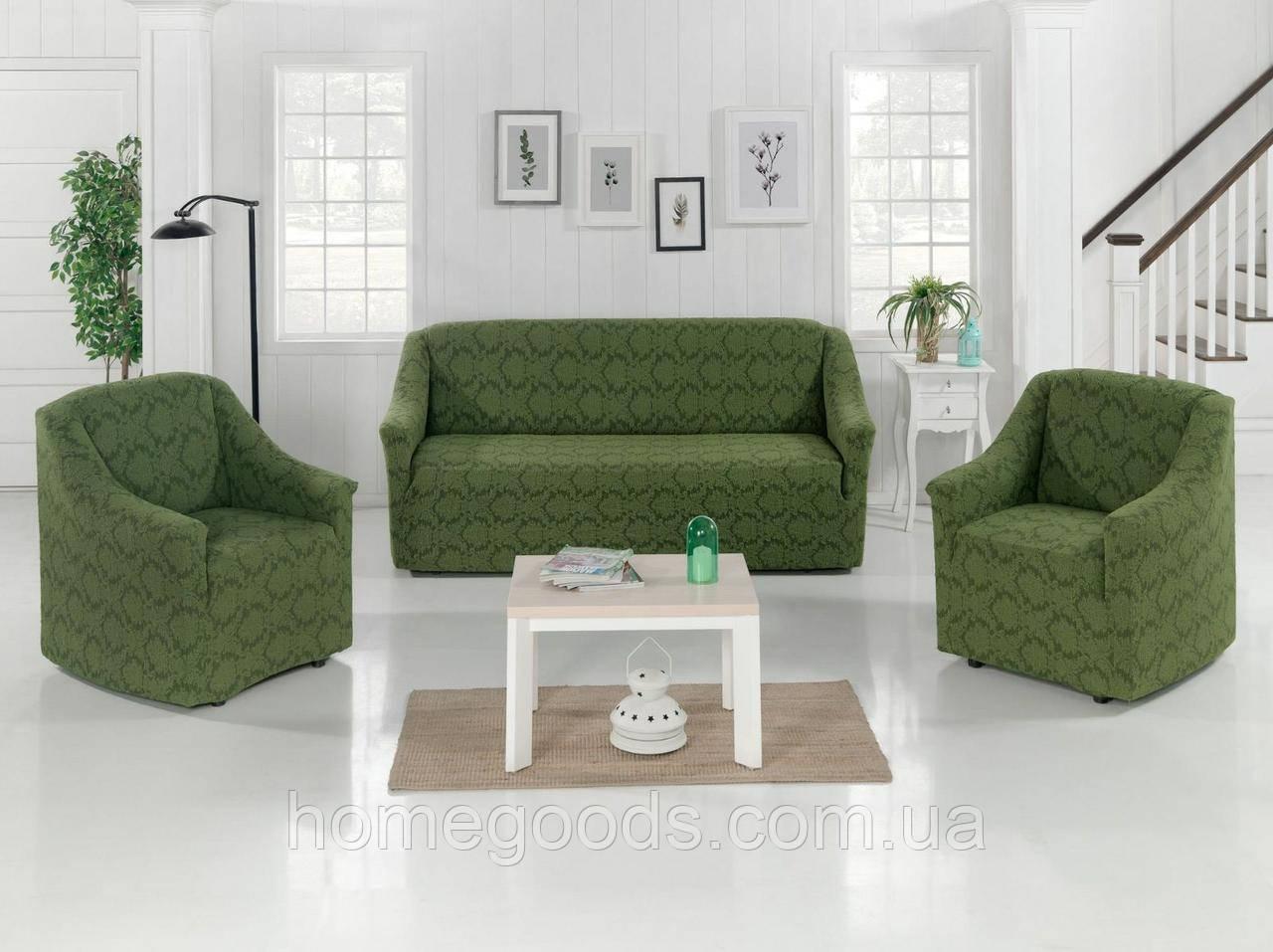 Универсальный чехол на диван и кресла