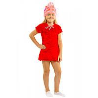 Карнавальный костюм свинки Пеппы для девочки., фото 1