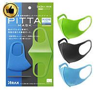 3 ШТ Многоразовая детская маска питта Pitta Mask Kids (3 цвета в наборе)