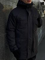 "Мужская зимняя куртка/парка Winter Parka ""Arctic"" черная"