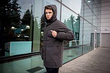 """Мужская зимняя куртка/парка Winter Parka """"Arctic"""" серая, фото 3"""