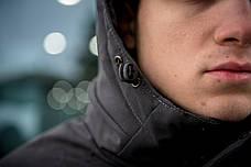 """Мужская зимняя куртка/парка Winter Parka """"Arctic"""" серая, фото 2"""