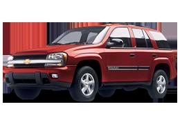 Дефлекторы на боковые стекла (Ветровики) для Chevrolet (Шевроле) Trailblazer I 2001-2011