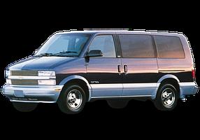 Дефлекторы на боковые стекла (Ветровики) для Chevrolet (Шевроле) Astro 1994-2005