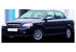 Дефлекторы на боковые стекла (Ветровики) для Chevrolet (Шевроле) Viva 2004-2008
