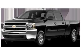 Дефлекторы на боковые стекла (Ветровики) для Chevrolet (Шевроле) Silverado 2 2007-2014