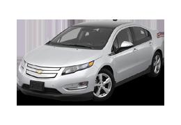 Дефлекторы на боковые стекла (Ветровики) для Chevrolet (Шевроле) Volt 1 2010-2015
