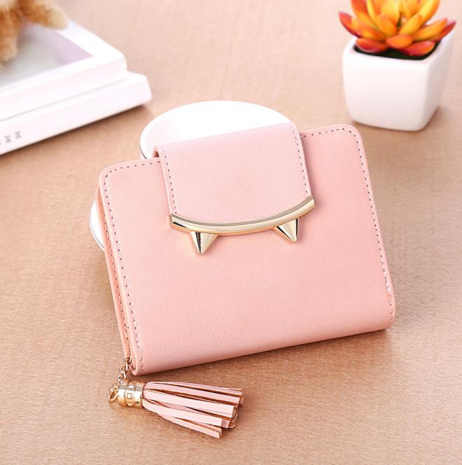 Гаманець жіночий рожевий код 169