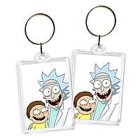 Брелок Рик и Морти | Rick and Morty 03