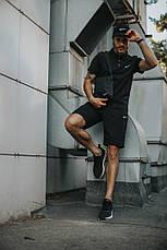 Мужской спортивный комплект (футболка+шорты+кепка) в стиле Nike 5 видов в наличии + Барсетка в подарок!, фото 3