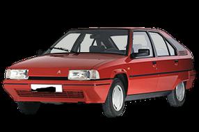 Дефлекторы на боковые стекла (Ветровики) для Citroen (Ситроен) BX 1982-1994