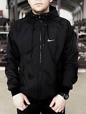 Мужская куртка/ветровка в стиле Nike Windrunner Jacket 3 цвета в наличии, фото 2