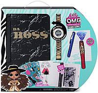 Набор модный журнал ЛОЛ с тайным дневником и часами L. O. L. Surprise O. M. G. Fashion Journal Оригинал из США